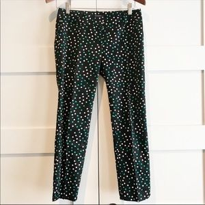Ann Taylor polka dot ankle pants